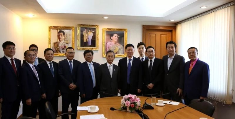 Chairman ZHANG Visits Thailand for Business Promotion